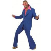 Disco Kostuum Blauw