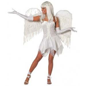 Witte Sexy Engel