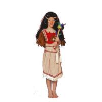 Indiaanse Mohawk Meisje