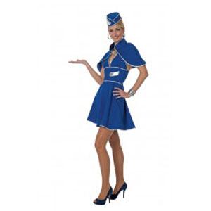 Stewardes Blauw