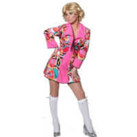 Disco Popart Dame